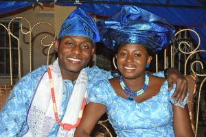 VICTOR & JENNIFER UYANWANNE - TRADITIONAL OUTFIT