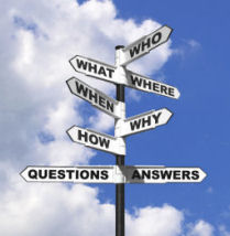 Six most commonly asked questions