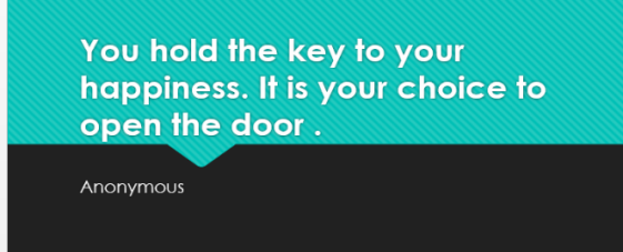 Image result for you are the key to your happiness