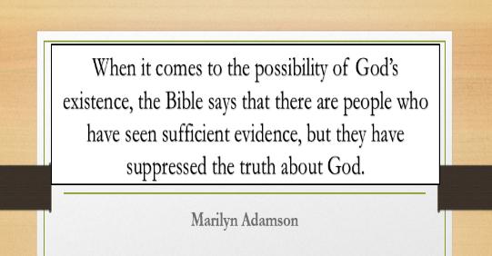 Marilym Adamson Quote