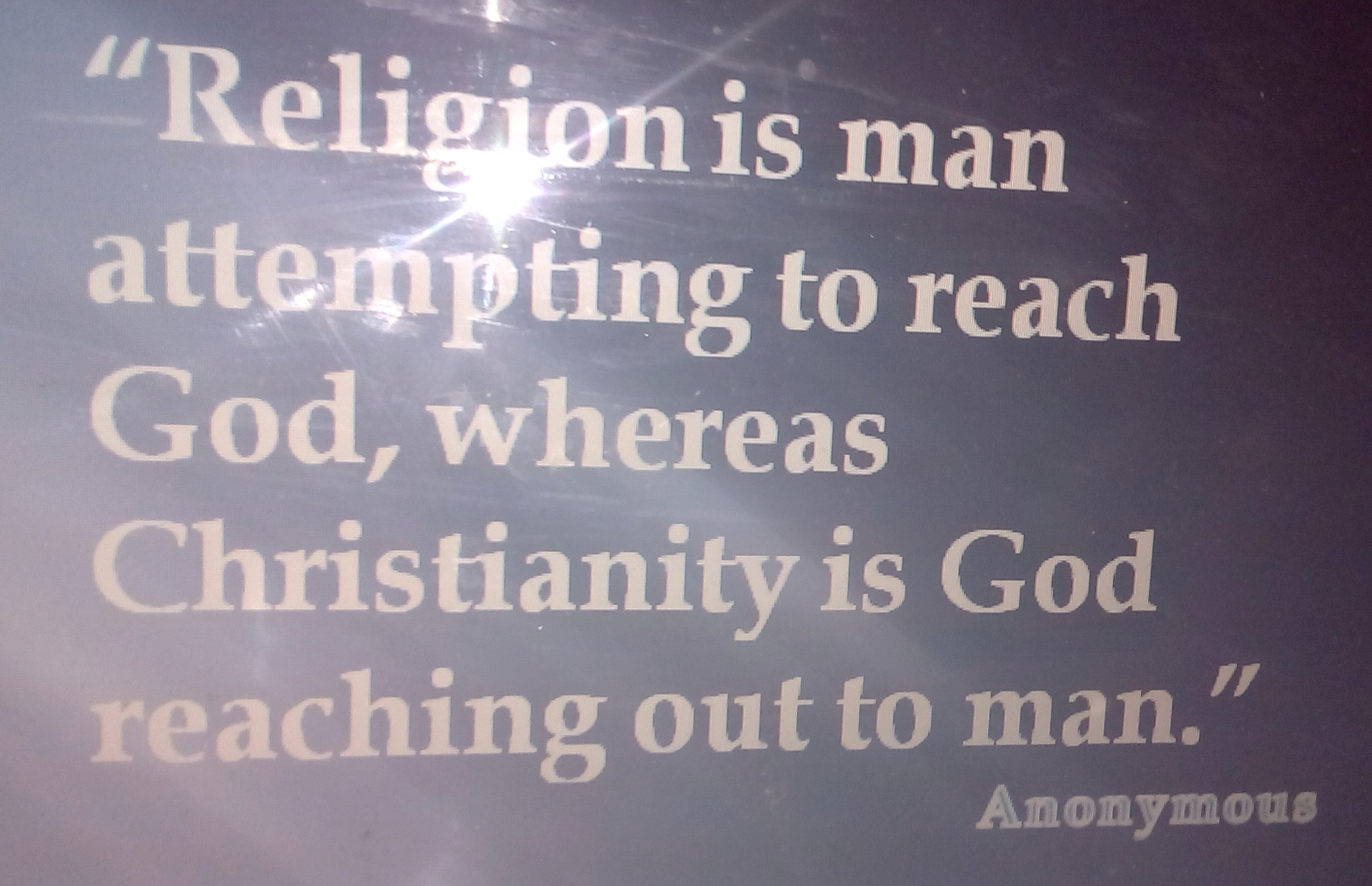 RELIGION AND CHRISTIANITY