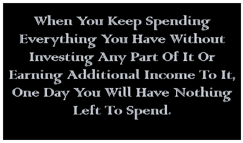 Spending without Saving