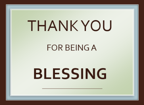 From Me To You: Thank You For Being There. – Victors' Corner