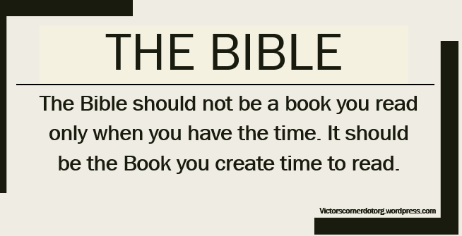 Why you should read the Bible