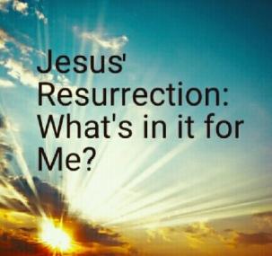 Jesus Resurrection by Victor Uyanwanne