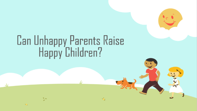 Happy parents, happy children