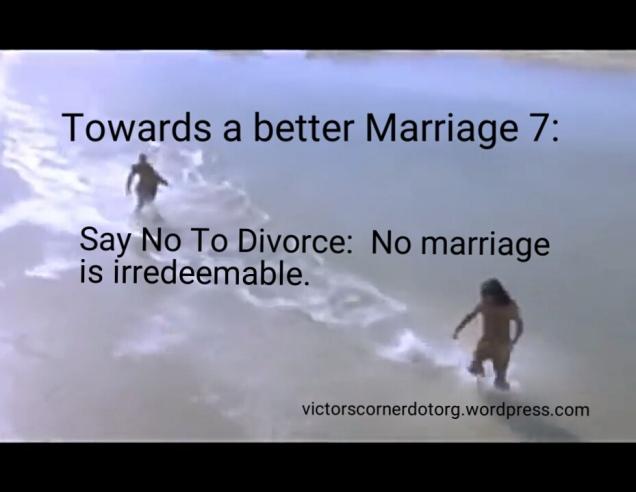 Reasons you should not divorce your spouse