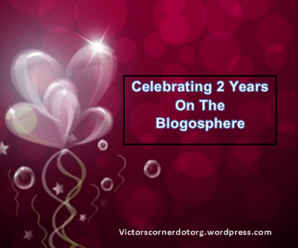 Celebrating 2 years on the blogosphere