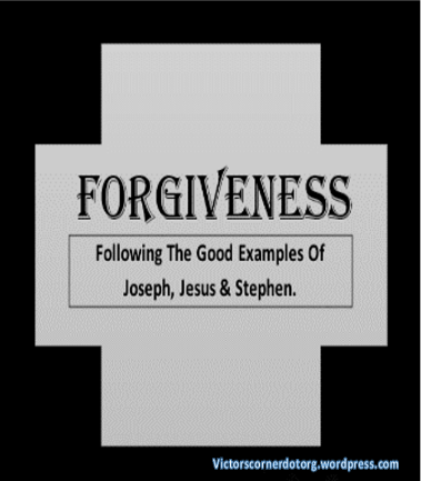 Victor Uyanwanne writes on forgiveness