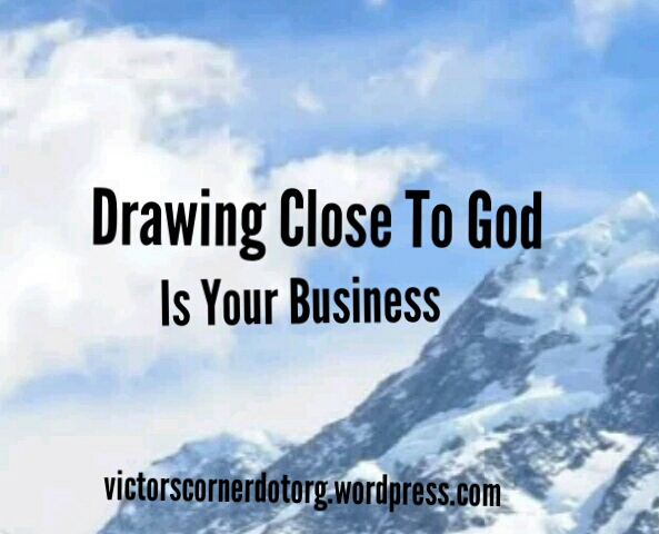 Victor Uyanwanne on drawing near to God