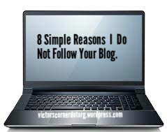 Why people follow your blog