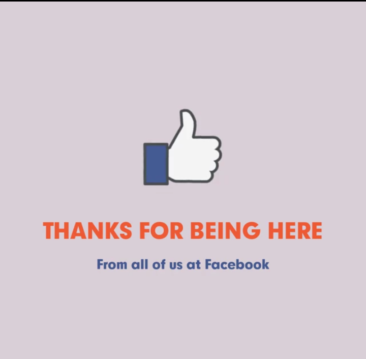 Thank you from FB