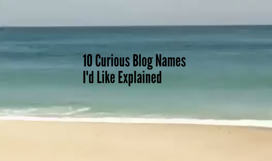 Meaning of blog names