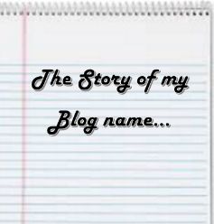 What is the story of your blog name?