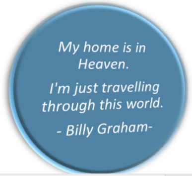 Billy Graham's Quote