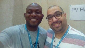 Victor with Nobeel Molham @ WCLagos2018