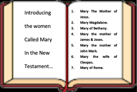 How many Mary's are in the Bible?