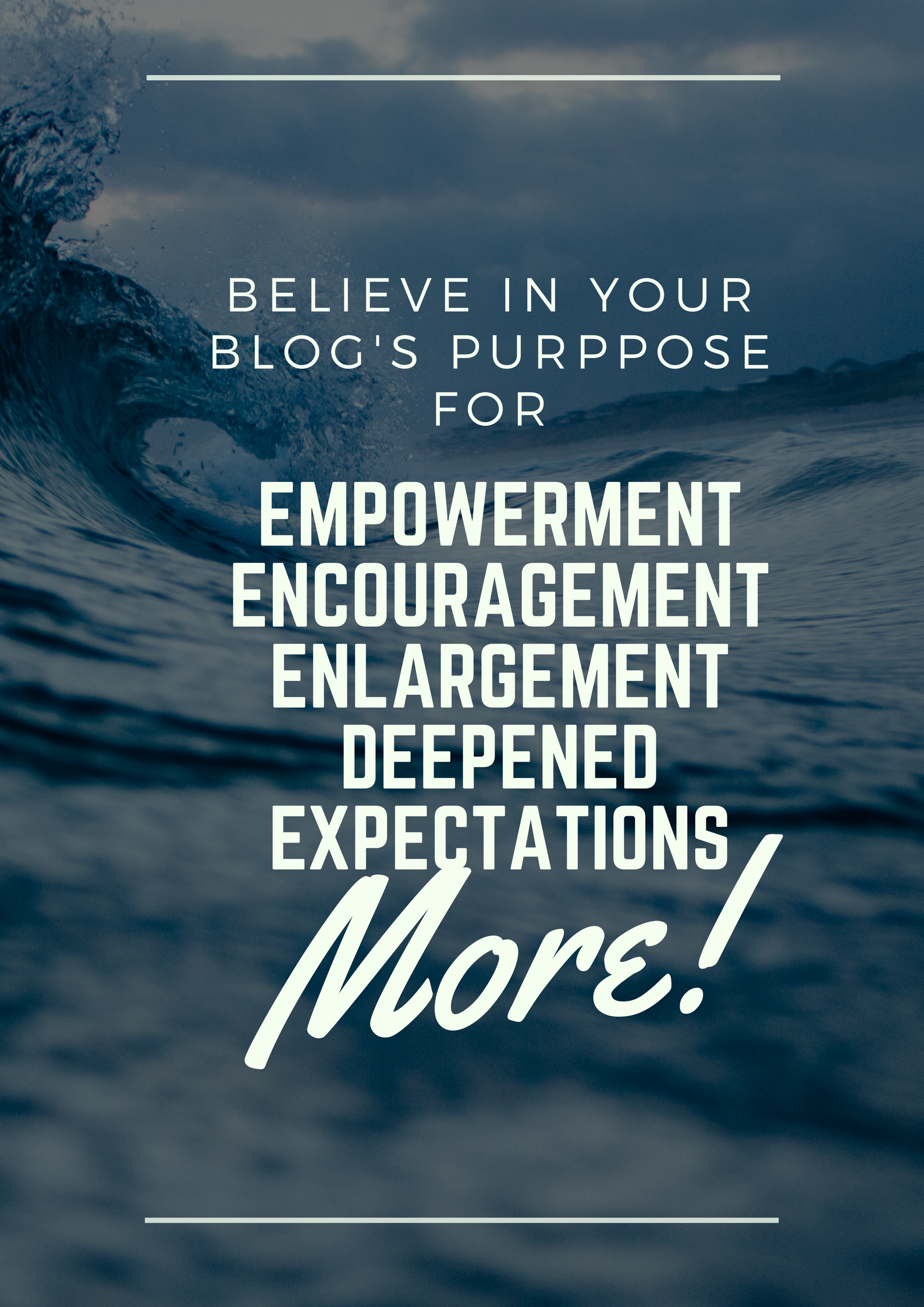 Your belief empowers you