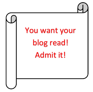 getting people to read your blog