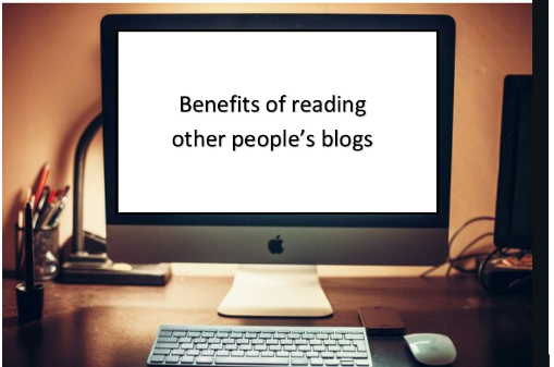 Why you should read blogs