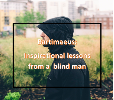 the story of blind Bartimaeus