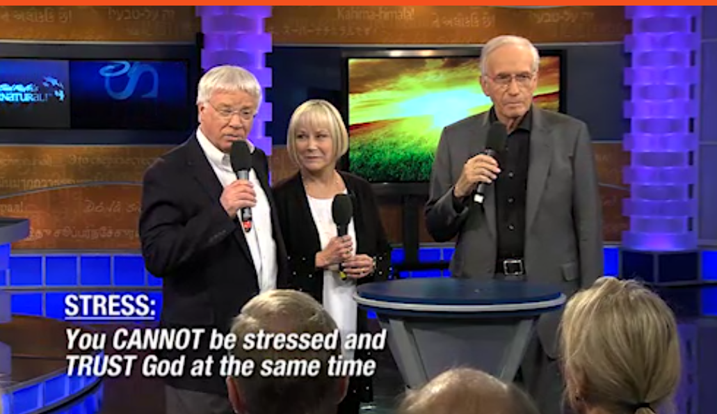 How stress affects your trust in God