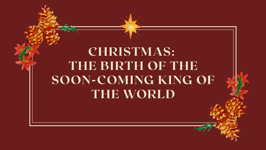 The meaning of Christmas.